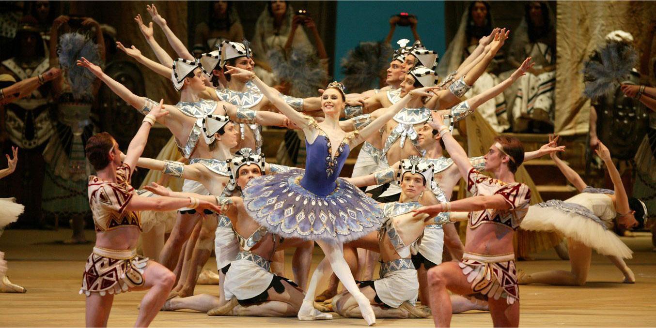 Ballet Bolshoi festa das etnias