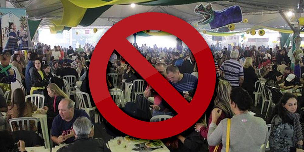Festa da tainha cancelada em 2016